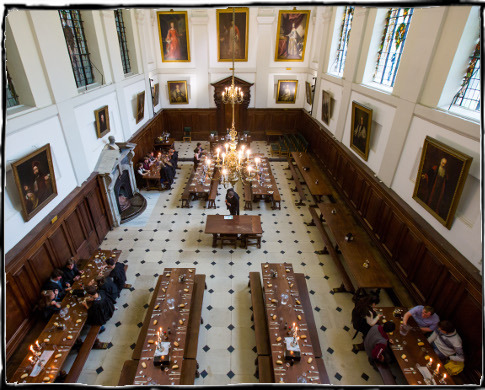 Exchange Dinner Hall